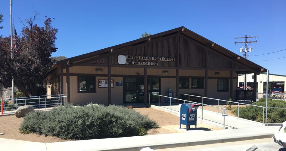 Pine Valley, California Post Office Photo