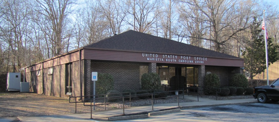 US Post Office Bat Cave, North Carolina